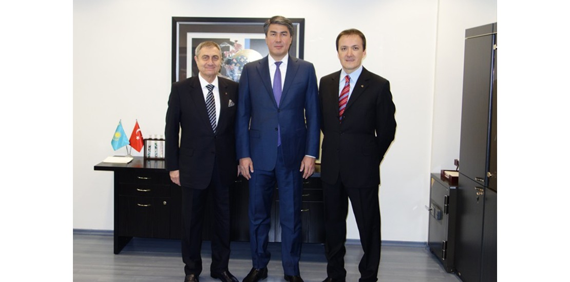 Асет Исекешев посетил АО Нобель АФФ»