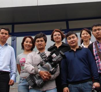 АО « Нобел АФФ» посетила съемочная группа