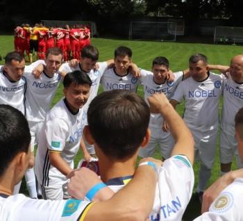 Сборная Казахстана прошла групповой этап!